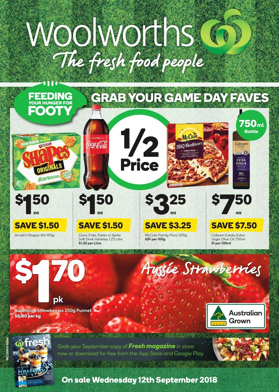 woolworths catalogue 12 sep 2018