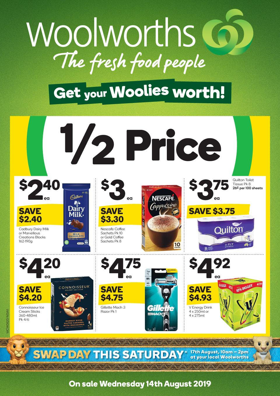 woolworths catalogue 14 20 aug 2019