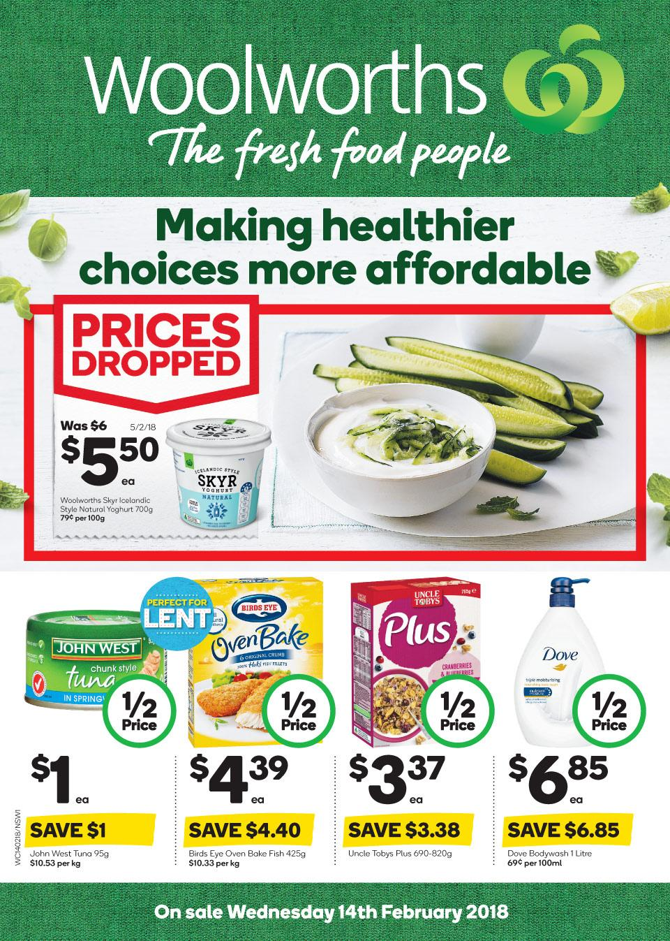 woolworths catalogue 14 february 2018