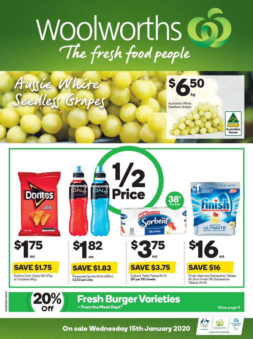 woolworths catalogue 15 21 jan 2020