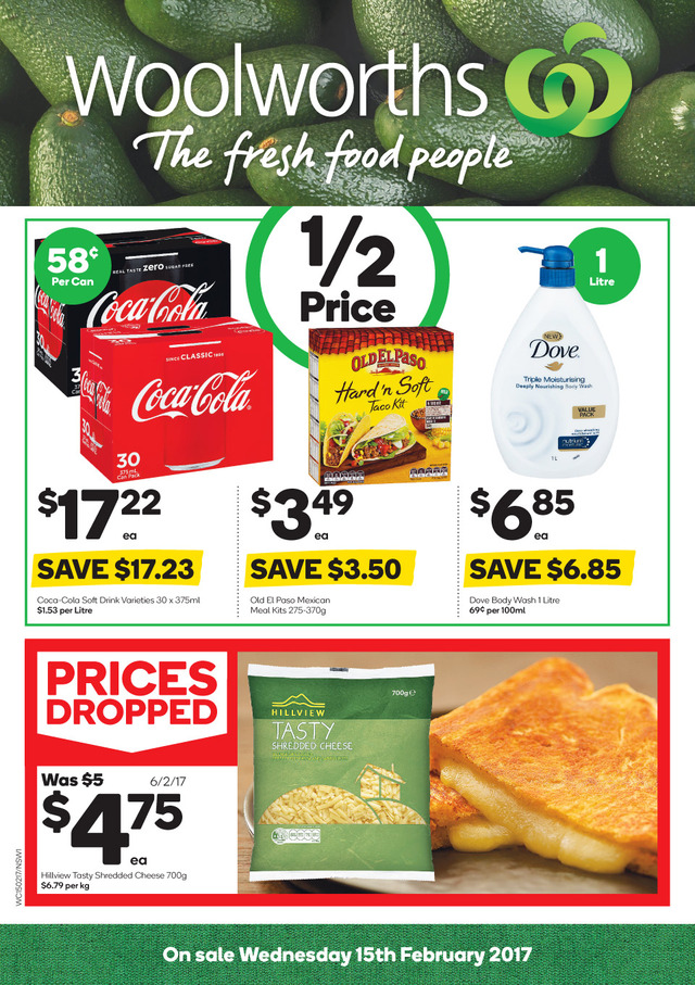 woolworths catalogue 15 february 2017