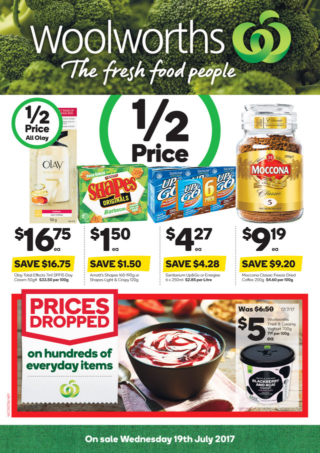 woolworths catalogue 19 july 2017