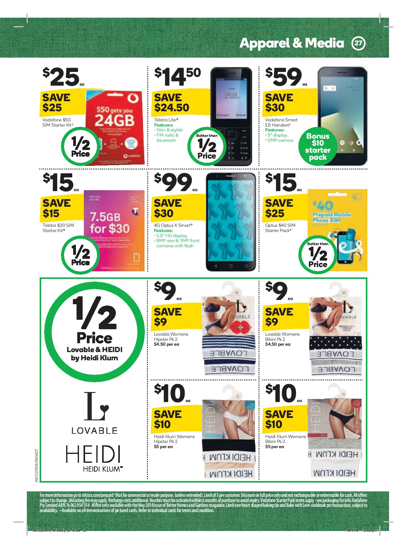 woolworths catalogue 2 may 2018