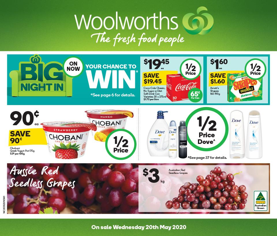 woolworths catalogue 20 26 may 2020
