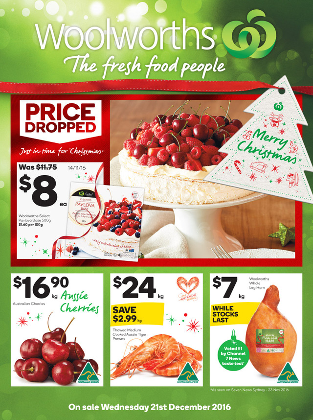 Woolworths catalogue 21 27 december 2016 christmas negle Image collections