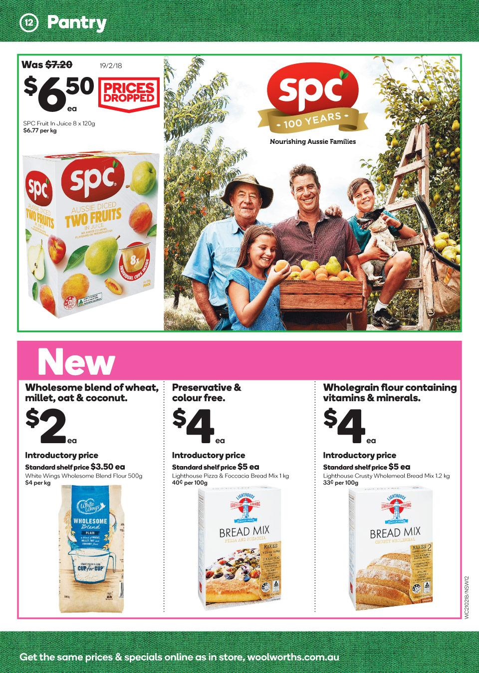 Woolworths online coupons 2018