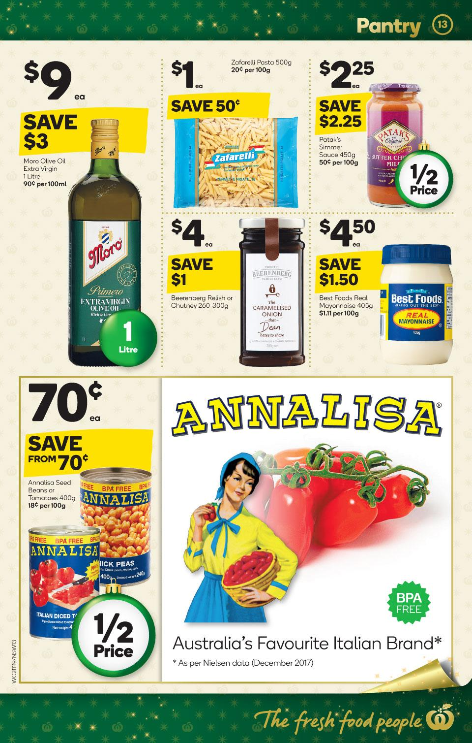 woolworths catalogue 21 nov 2018