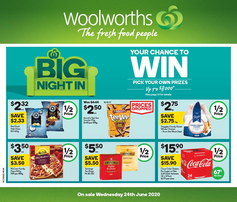 woolworths catalogue 24 30 jun 2020