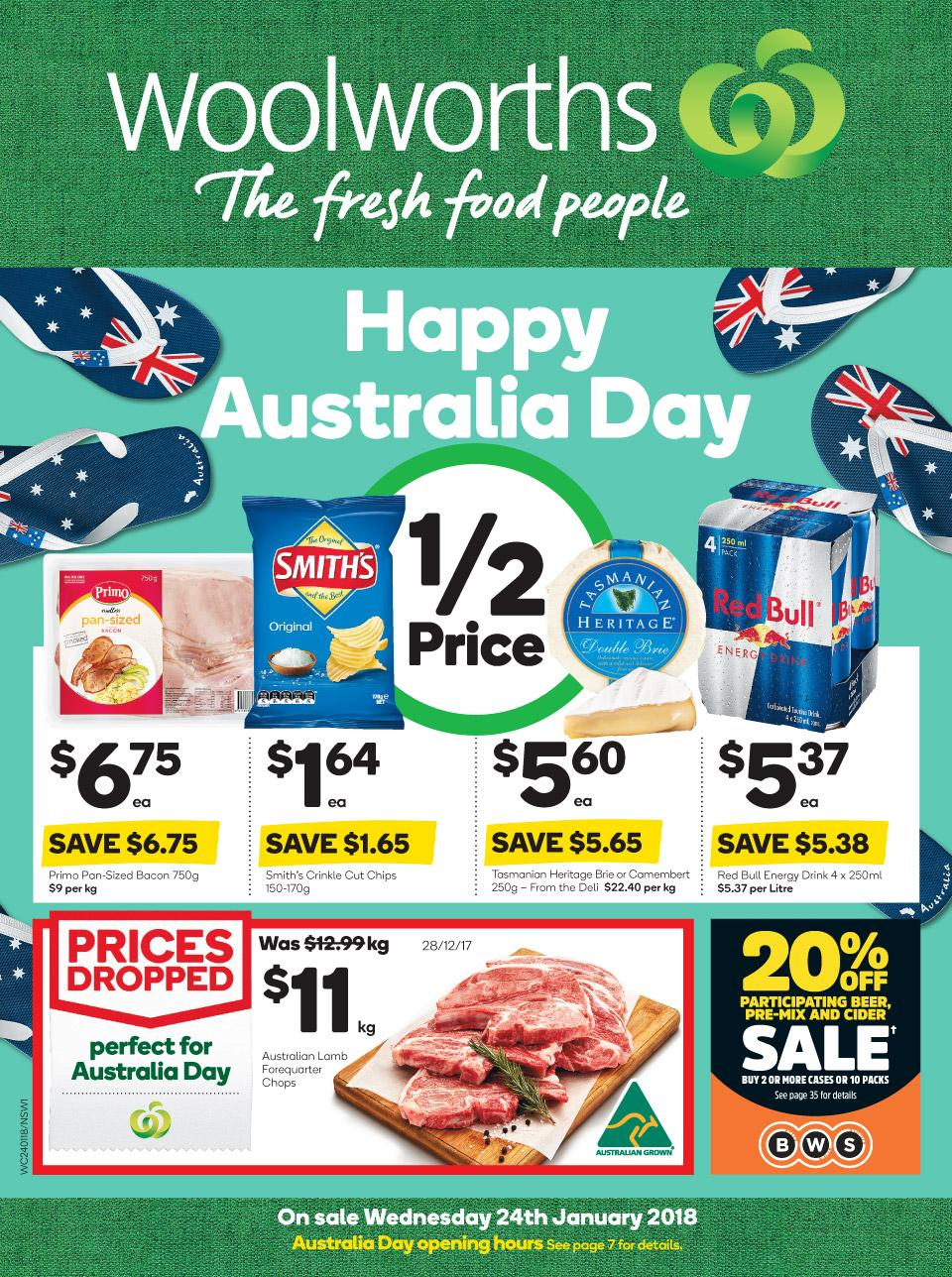 Woolworths coupons january 2018