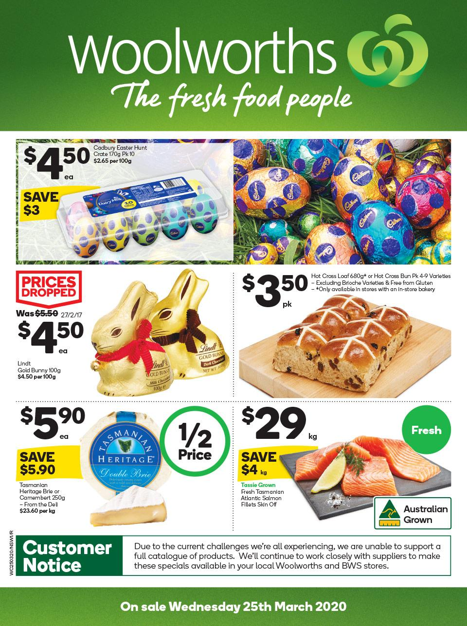 woolworths catalogue 25 31 mar 2020
