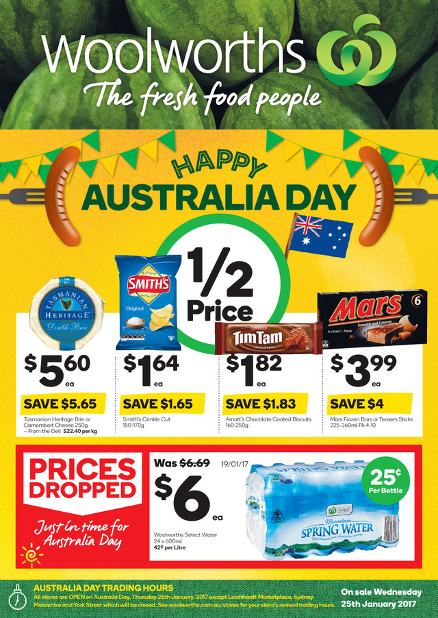 woolworths catalogue 25 january 2017