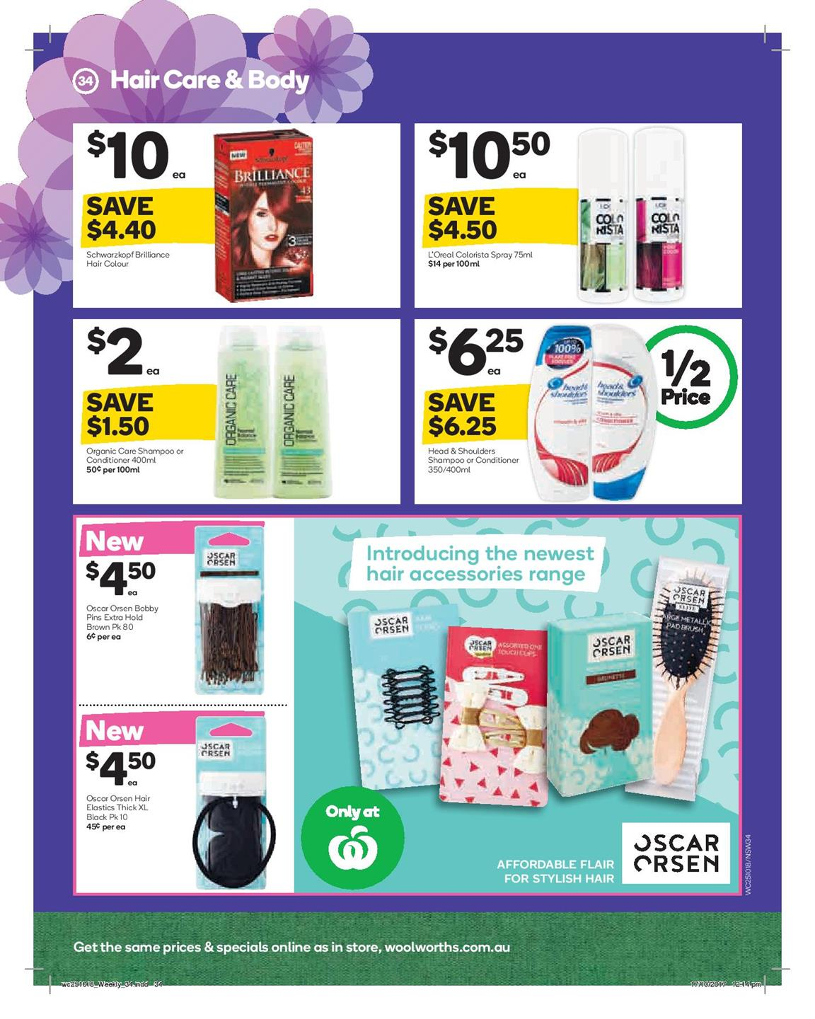 woolworths catalogue 25 october 2017