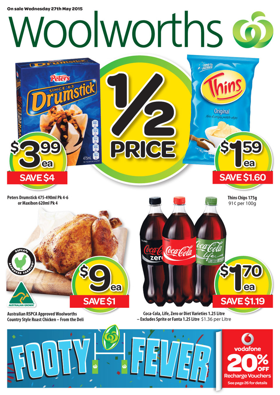 Woolworths Food Catalogue