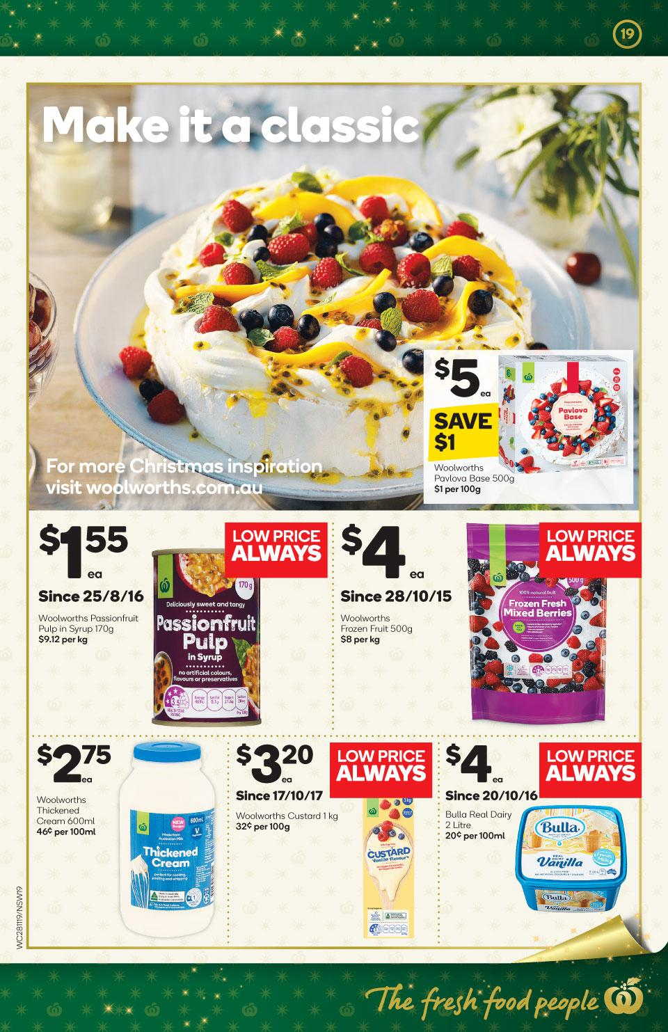 woolworths catalogue 28 nov 2018