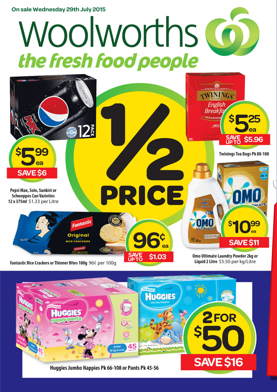 woolworths catalogue 29 jul 04 aug 2015
