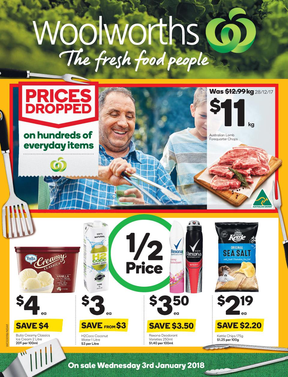 woolworths catalogue 3 january 2018