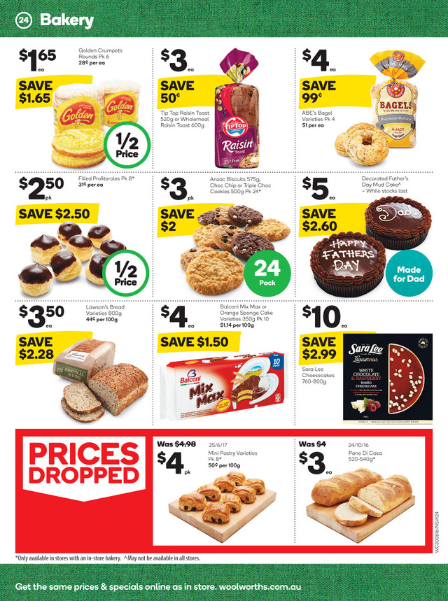 woolworths catalogue 30 aug 2017