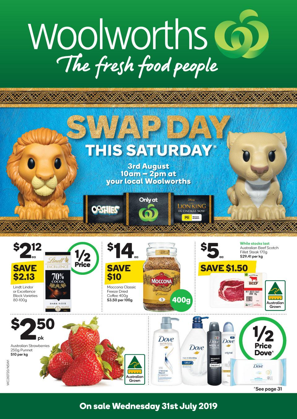 woolworths catalogue 31 jul 6 aug 2019