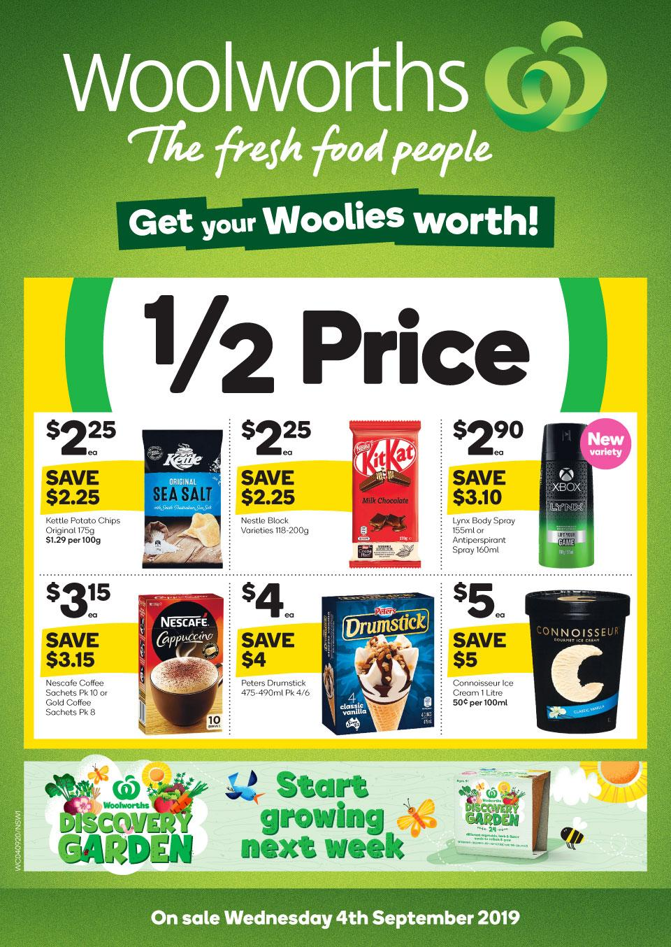 woolworths catalogue 4 10 sep 2019