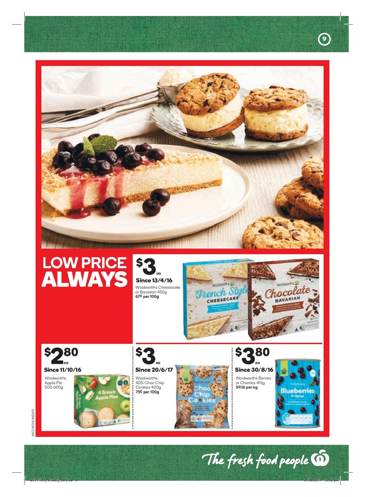 woolworths catalogue 4 october 2017