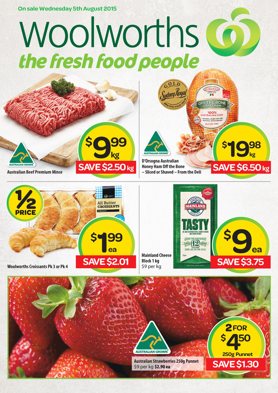 woolworths catalogue 5 aug 11 aug 2015