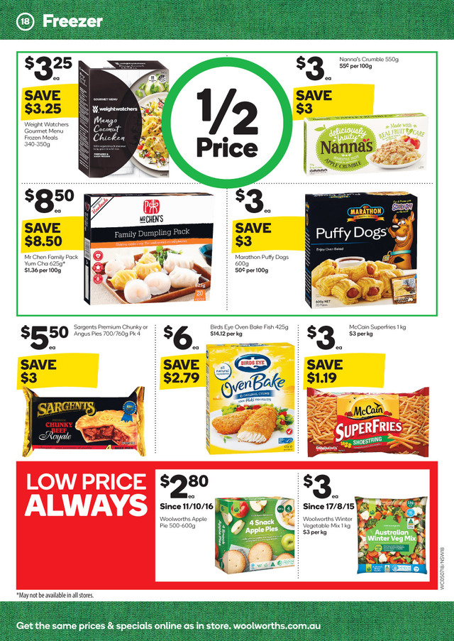 woolworths catalogue 5 july 2017
