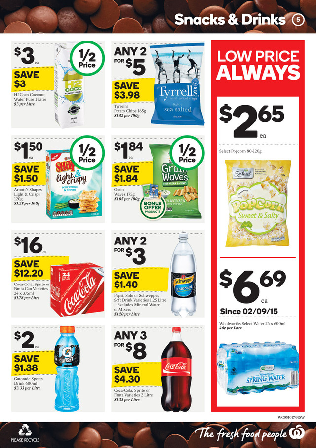 woolworths catalogue 5 oct 2016