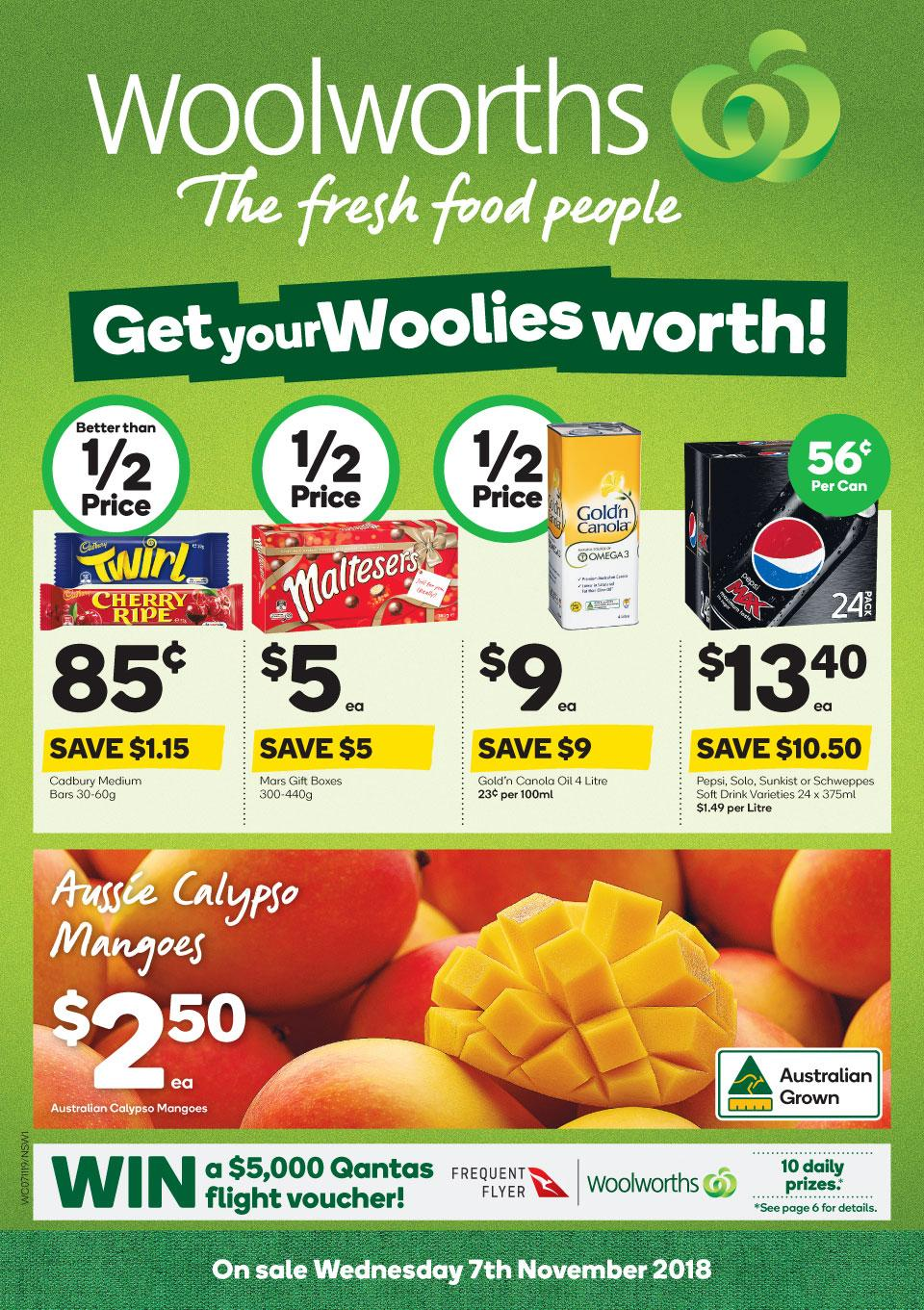 woolworths catalogue 7 nov 2018