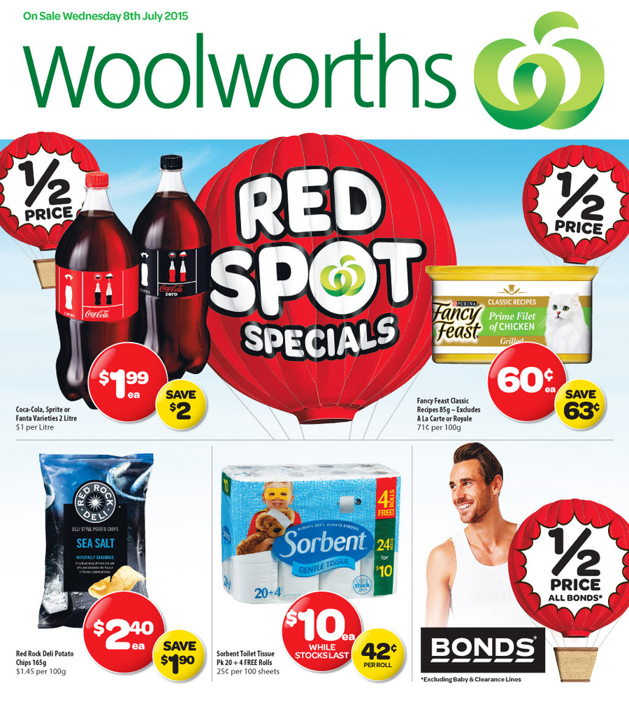 woolworths catalogue 8 july 14 july 2015