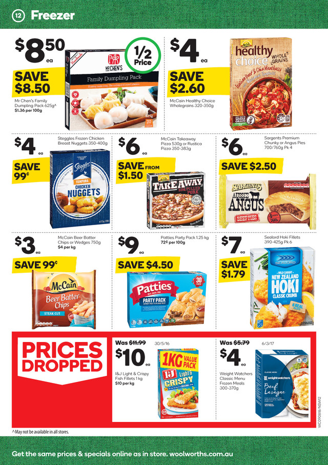 woolworths catalogue 9 august 2017