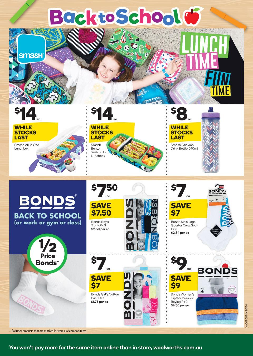 woolworths catalogue 9 jan 2019
