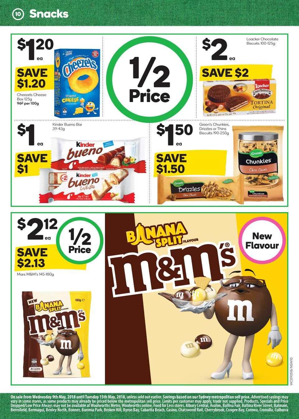 woolworths catalogue 9 may 2018