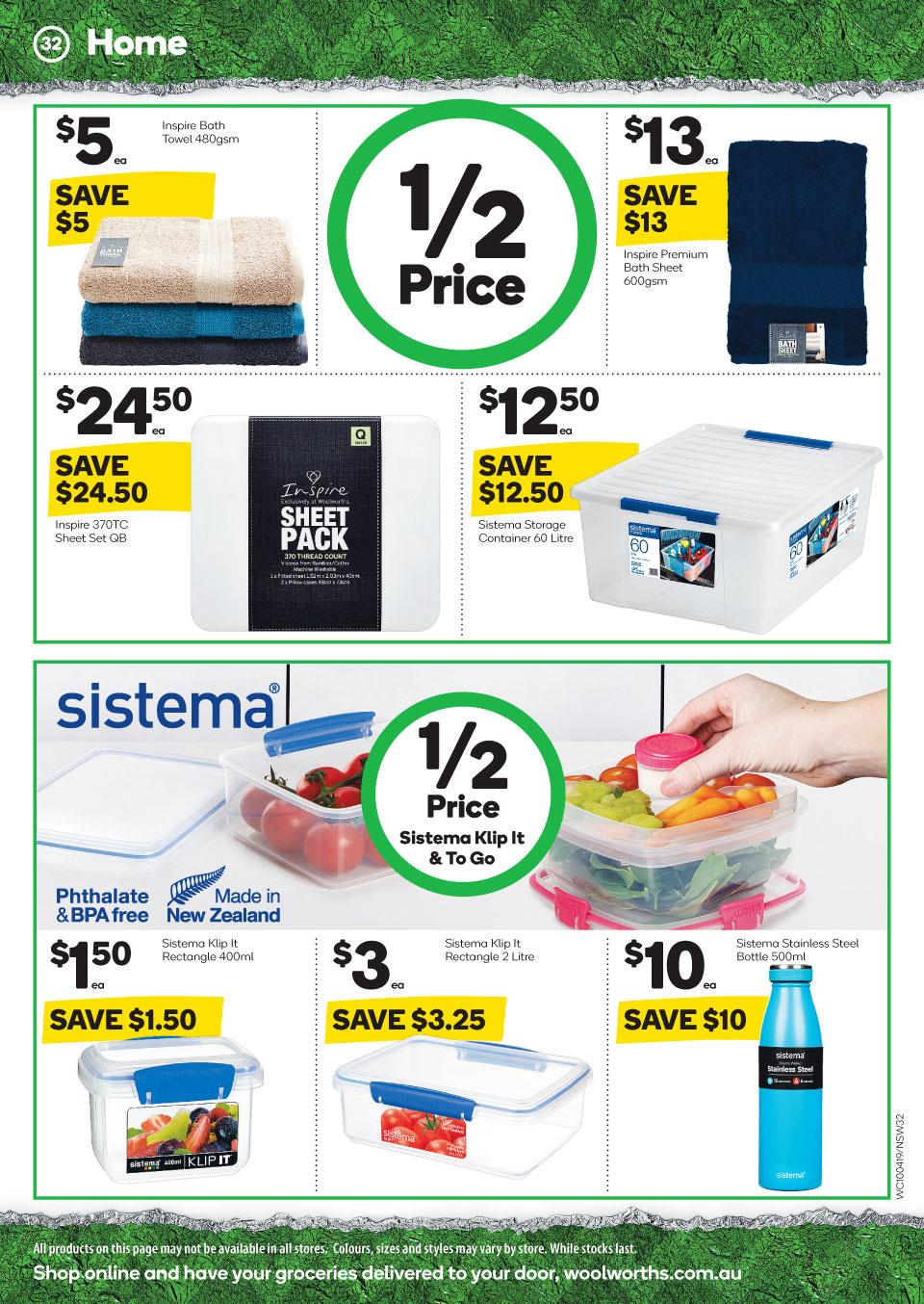 woolworths catalogue easter 10 16 apr 2019
