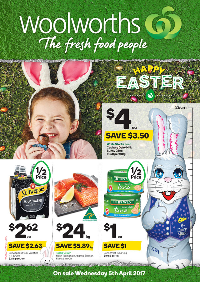 woolworths catalogue easter 5 april 2017