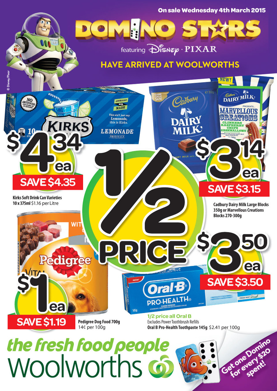 woolworths catalogue weekly specials march 2015